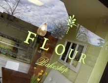 Flour Bakeshop Identity, Signage and Packaging System