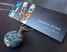 Sandra Wank Art Glass Identity and Cards