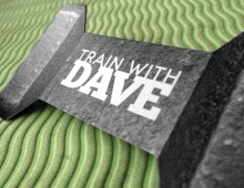 Train With Dave Identity and Business Cards