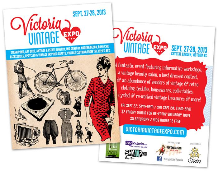 victoria vintage expo flyer