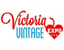 Victoria Vintage Expo Logo and Marketing Materials